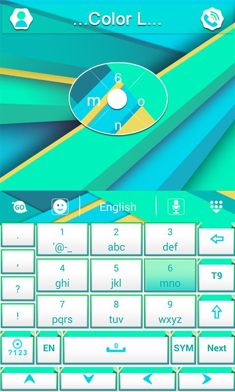 Color L GO Keyboard - screenshot