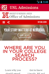 Visit UNL- screenshot thumbnail