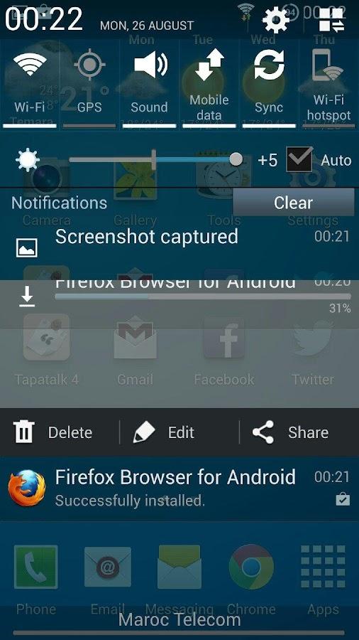 Wanam Xposed- screenshot