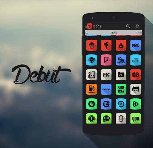 Debut – Icon Pack v1.1.2