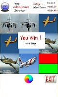Screenshot of Memory - World Air Force Cards