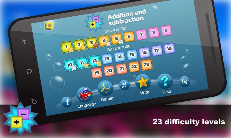 Mental Math for Kids - screenshot