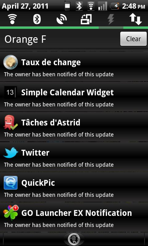 AppNotifier - Protect Yourself- screenshot