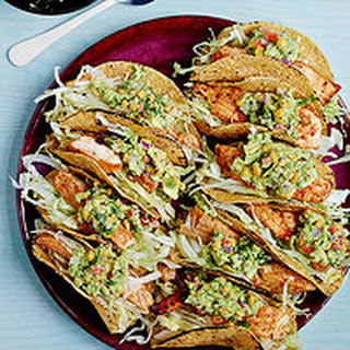 Fish Tacos with Corny Guac.