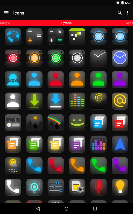 Pulse Icon Pack- screenshot