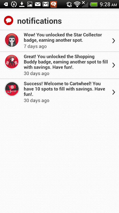 Cartwheel - screenshot