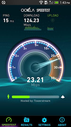 0 Speedtest.net App screenshot