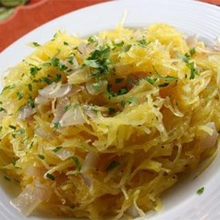 Spaghetti Squash Saute