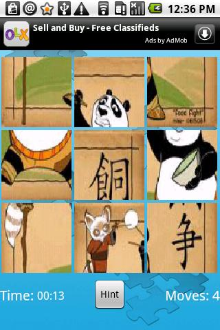 Photo Puzzle SRA- screenshot