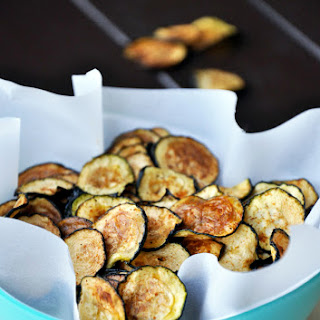 Baked Mesquite Zucchini Chips