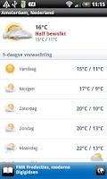 Screenshot of Amsterdam Oost