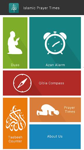 Islamic Prayer Times and Qibla