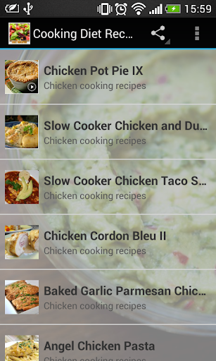 Cooking Diet Recipes