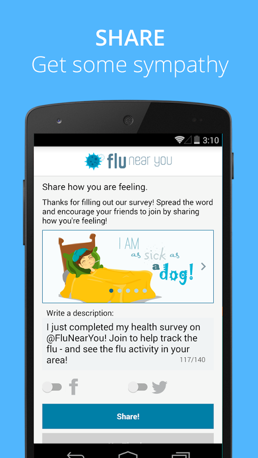 Flu Near You- screenshot