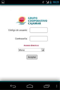 Grupo Cooperativo Cajamar - screenshot thumbnail
