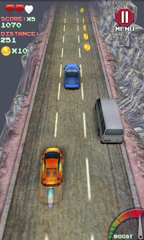 Turbo 3d Racing - screenshot