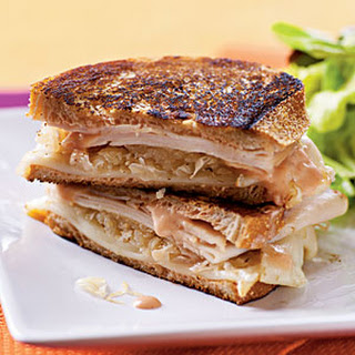 Turkey Reuben Panini.