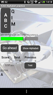 ICAO Phonetic alphabet trainer- screenshot thumbnail