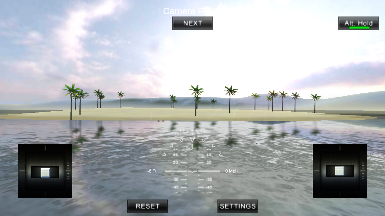 Quadcopter FX Simulator- screenshot