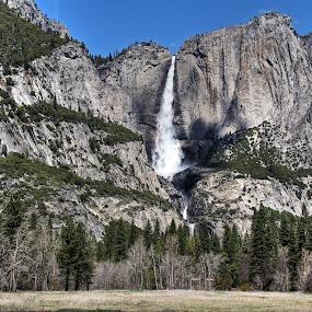 Yosemite Falls by Arvind Mallya - Landscapes Waterscapes ( california, yosemite falls, yosemite national park, highest falls in us, usa,  )