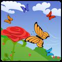 Цветы в поле, Розы HD Free icon