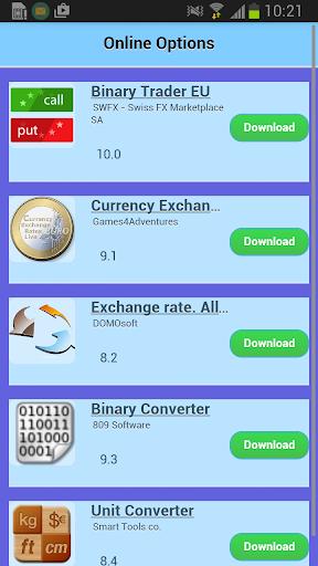 Online Options App