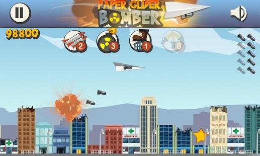 Paper Glider Bomber- screenshot thumbnail