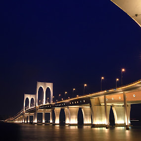 Sai Van Bridge by Renato Marques - Buildings & Architecture Bridges & Suspended Structures ( taipa, macau, bridge, china, sai van,  )