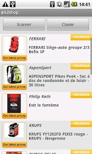 pic2shop Barcode & QR Scanner- screenshot thumbnail