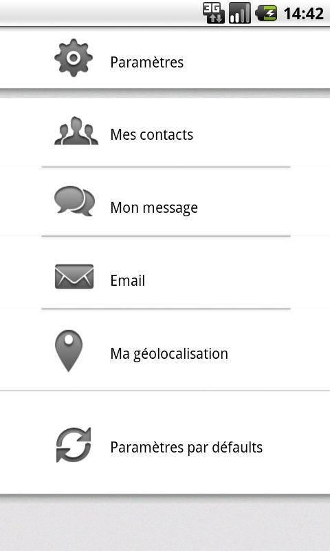 HELP! Aide d'urgence SOS- screenshot