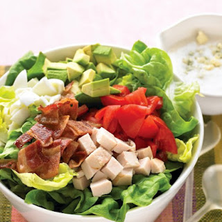 Lighter Cobb Salad.