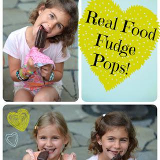 Homemade Fudge Pops.