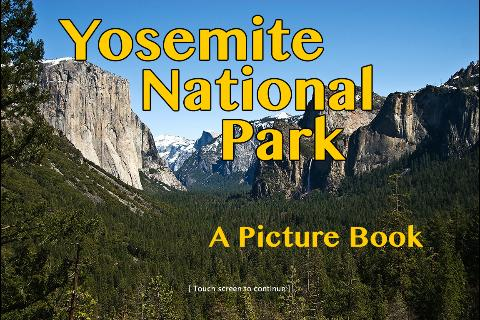 Yosemite National Park Gallery- screenshot