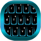 Fancy Neon Keyboard
