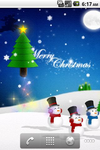 Christmas Card Live Wallpaper- screenshot