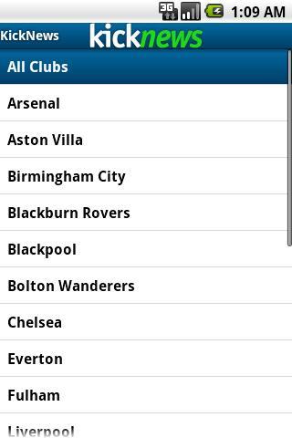 Kick Football News- screenshot