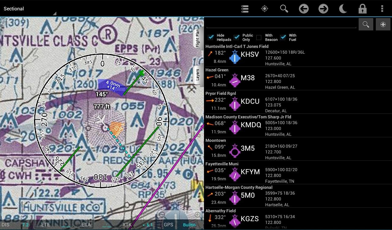 Avilution AviationMaps - screenshot