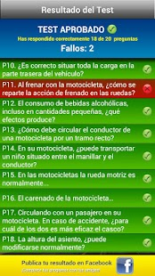 Test Motocicleta A1/A2 - screenshot thumbnail