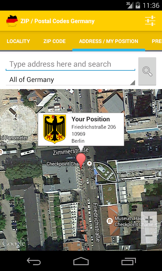 ZIP  Postal Codes Germany  Android Apps on Google Play