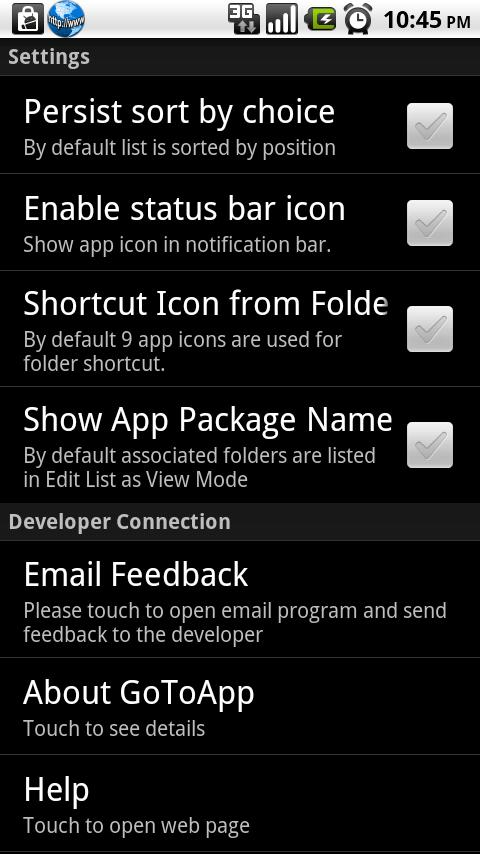 GoToApp Full - screenshot