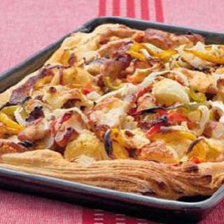 Hartige Brietaart Met Kalkoen En Tapanade