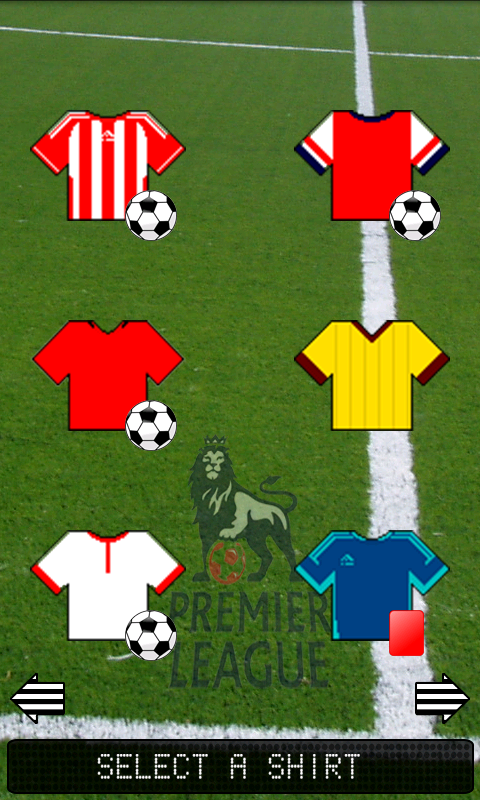 Football Shirts- screenshot