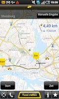 Screenshot of Taxi 24 Frankfurt