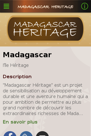 Madagascar Heritage