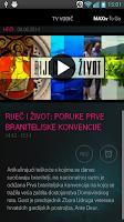 Screenshot of MAXtv To Go