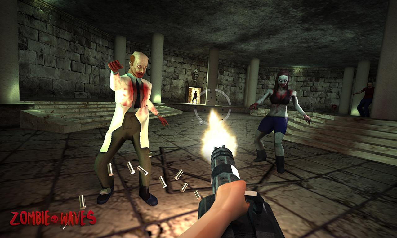Zombie Waves 3D- screenshot