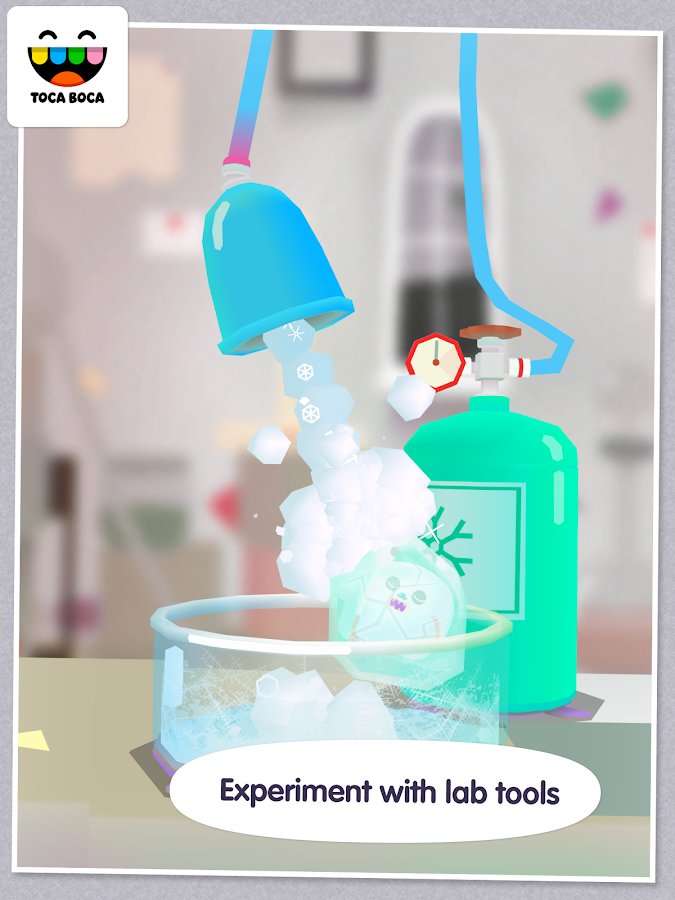 Toca Lab- screenshot
