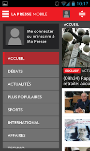 La Presse Mobile - screenshot thumbnail