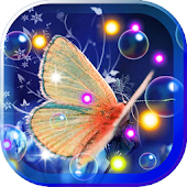Flowers n Butterflies HD LWP