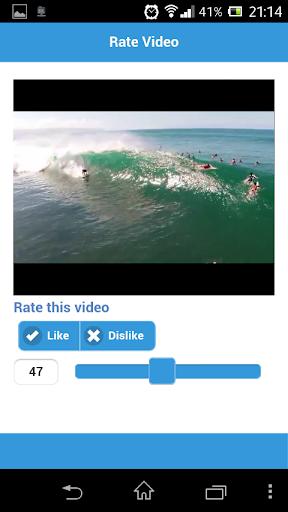 Video Rating App